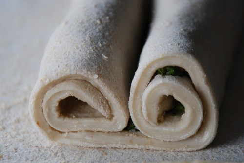 Savory Palmier rolled