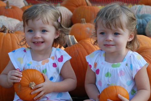 Girls - Pumpkin Patch