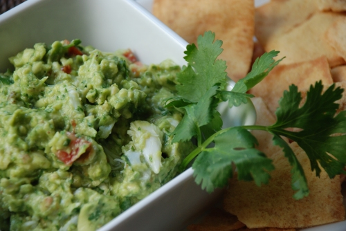Guac and Crab Dip