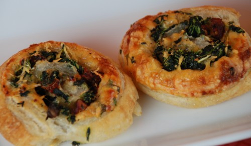 Spinach Cheese Puff