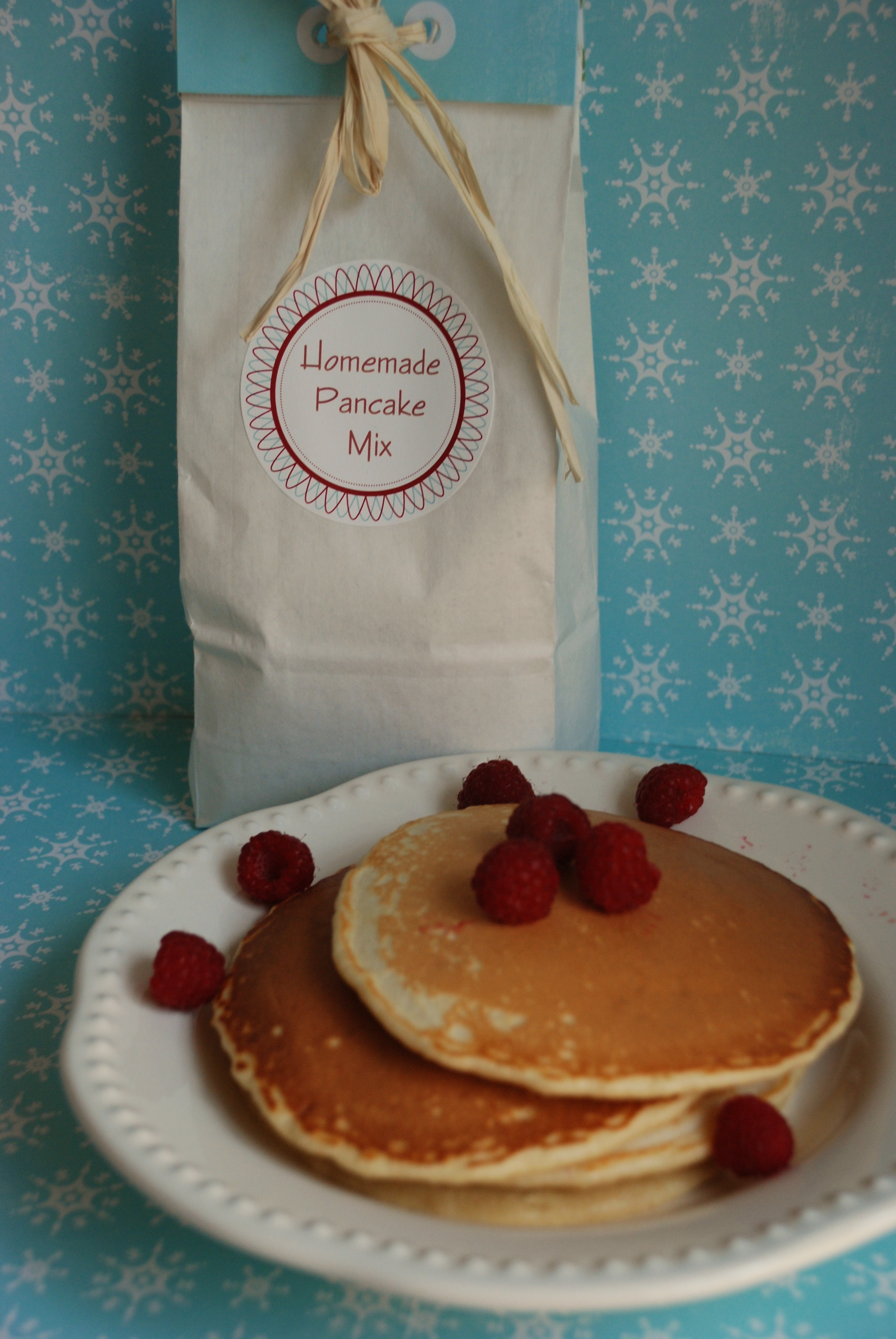 homemade pancake mix gift idea multiply delicious 30452