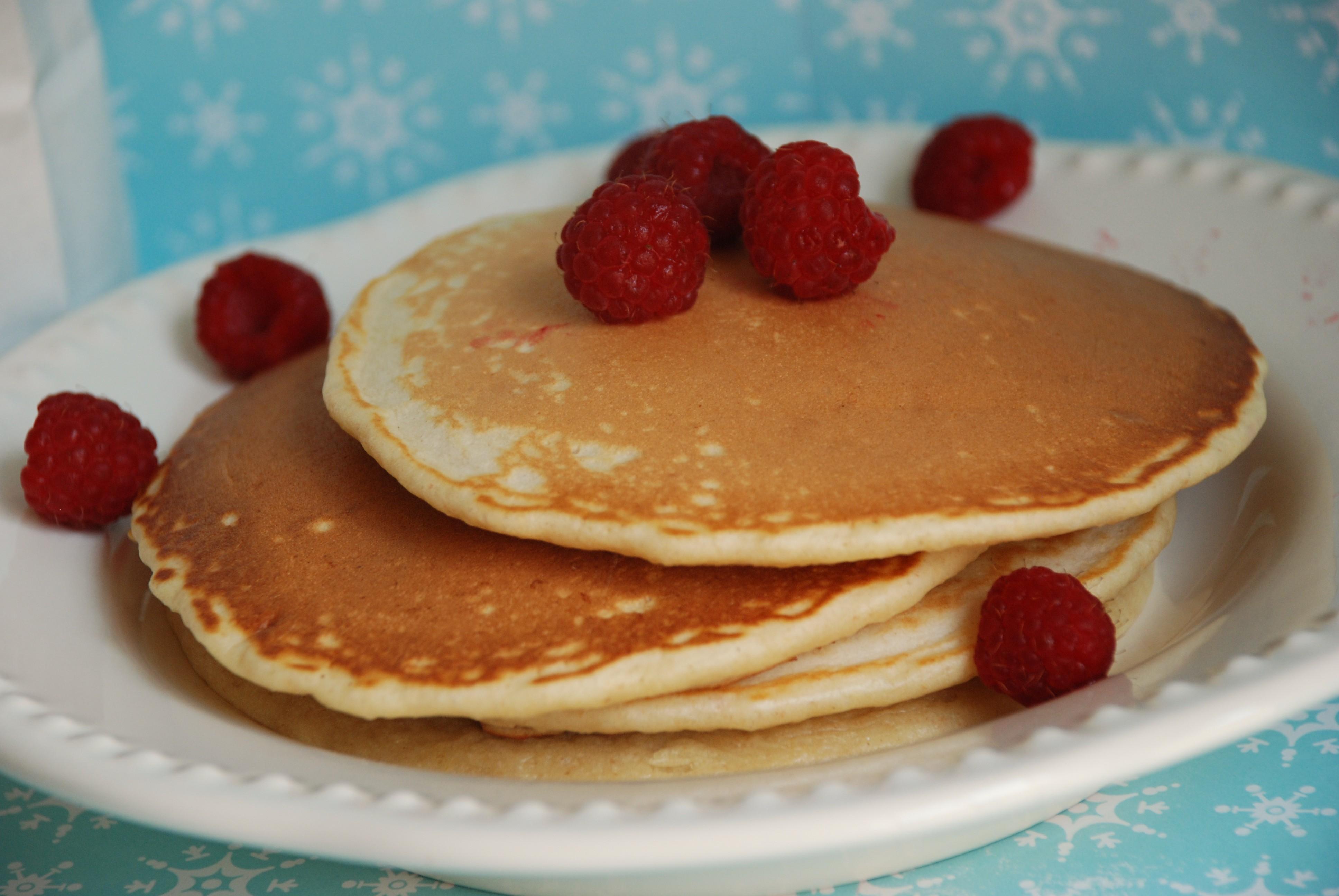 Resep kudapan dan Cara membuat adonan Pancake!