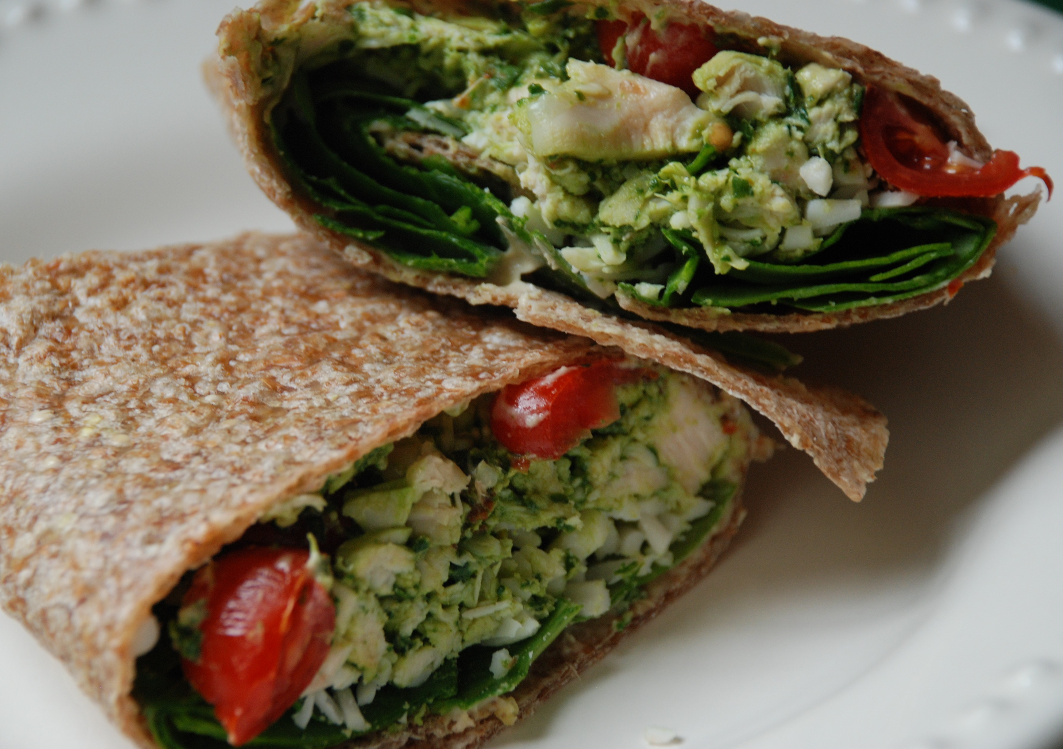 Healthy Chicken Wrap Fast Food